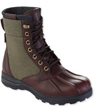 Men's Bar Harbor Waterproof Insulated Boots, Leather/Canvas