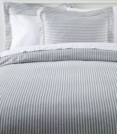 Ultrasoft Comfort Flannel Comforter Cover Collection, Stripe