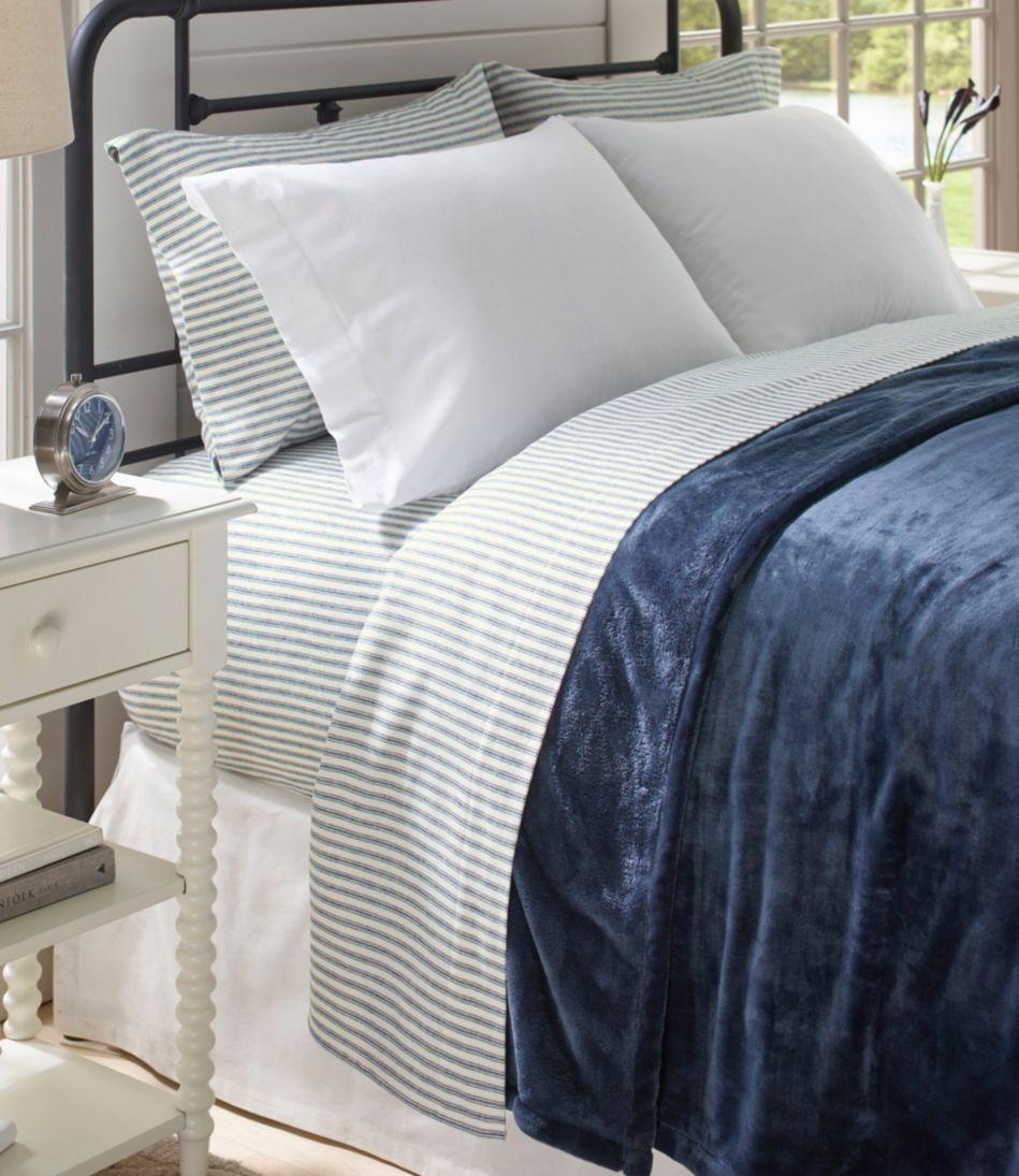Ultrasoft Comfort Flannel Sheet Set, Stripe