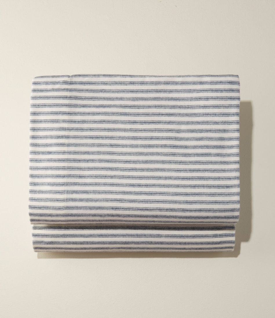 Ultrasoft Comfort Flannel Sheet, Flat Stripe