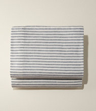 Ultrasoft Comfort Flannel Sheet, Flat Stripe