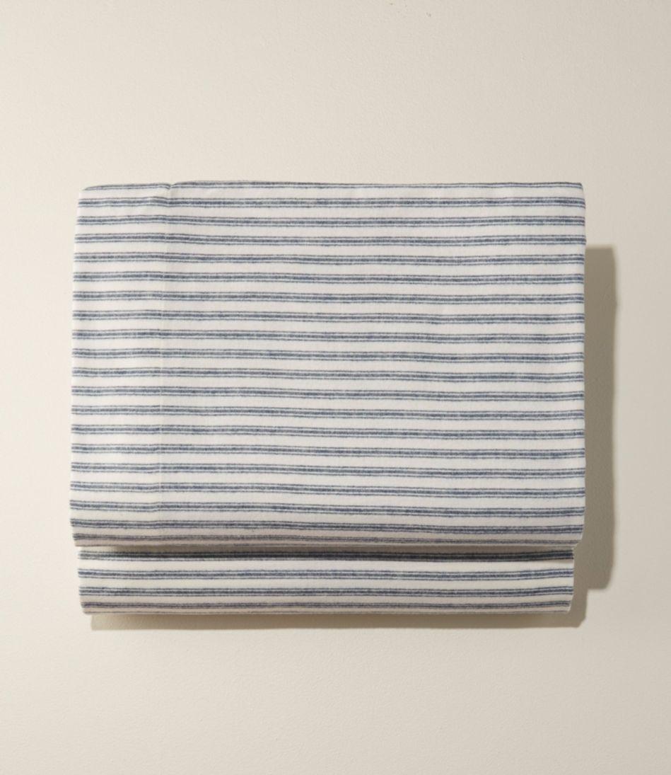 Ultrasoft Comfort Flannel Sheet, Fitted Stripe
