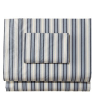 Sunwashed Percale Sheet Collection, Stripe