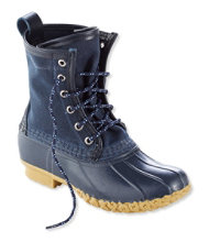 Kids' Waxed-Canvas L.L.Bean Boots