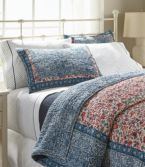 Sunwashed Percale Sheet Collection, Geo Print