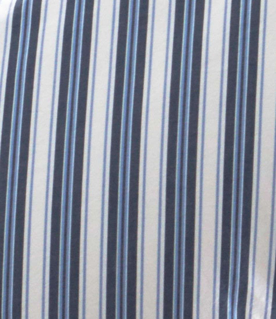 Sunwashed Percale Comforter Cover, Stripe