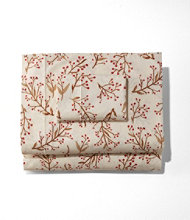Woodland Berry Percale Sheet Collection