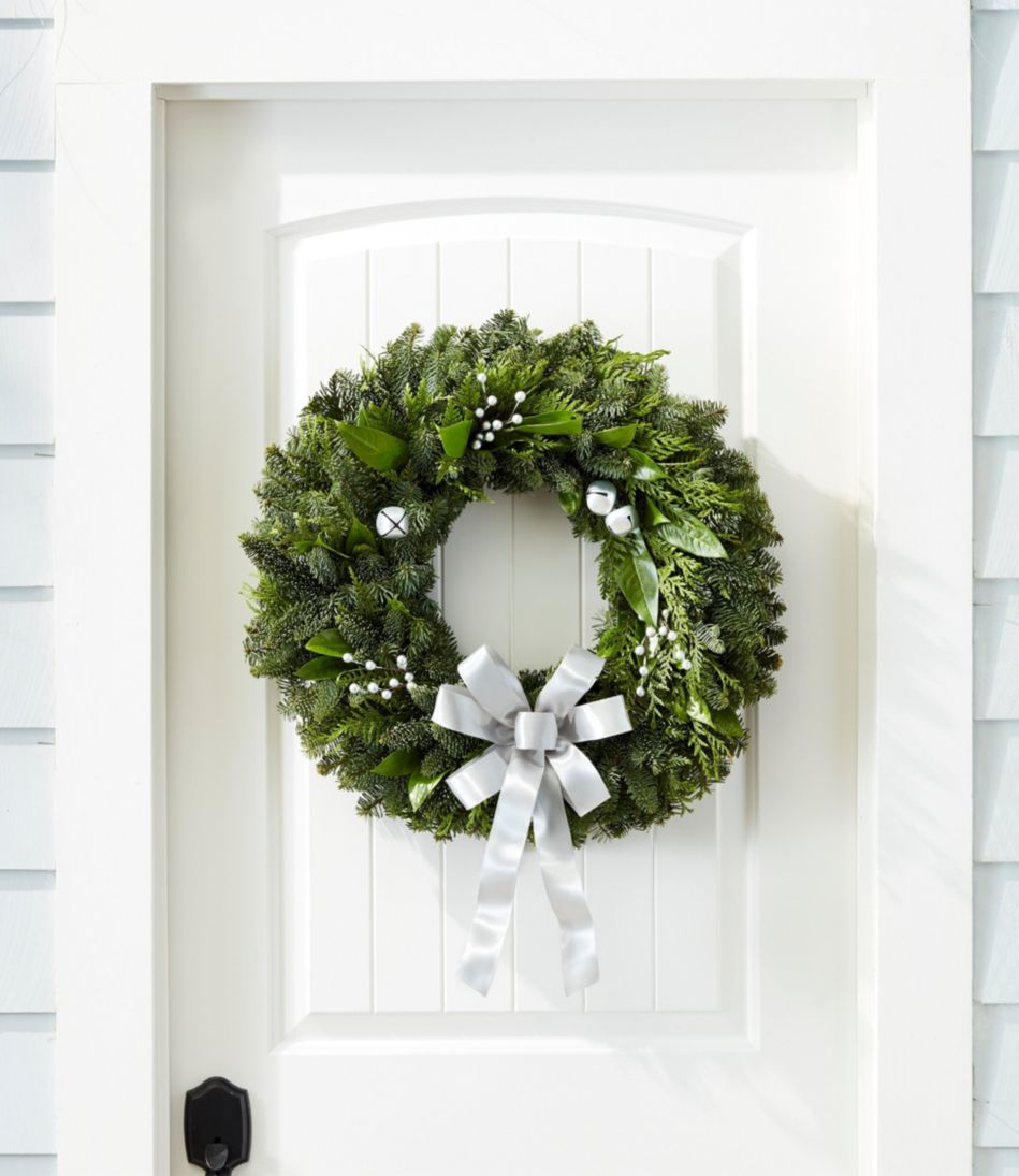 Silver Bells Wreath