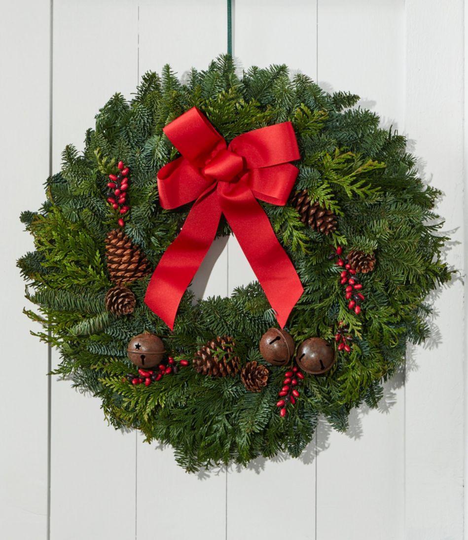 Rustic Bells Wreath