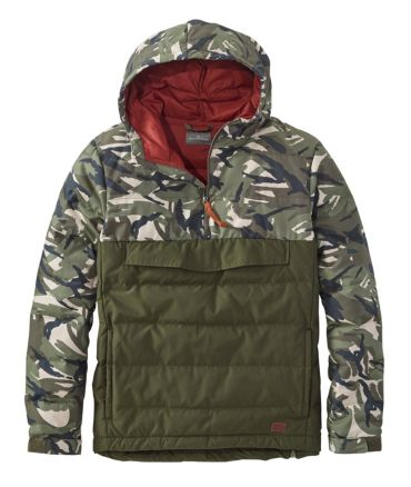 Signature 650 Down Anorak, Colorblock