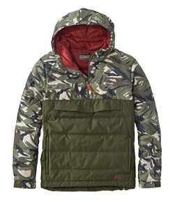 Men's Signature 650 Down Anorak, Colorblock