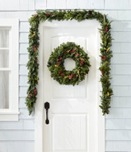 Woodland Berry Garland & Wreath Set