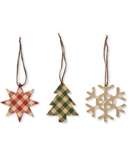 Maine-Made Set of Ornaments