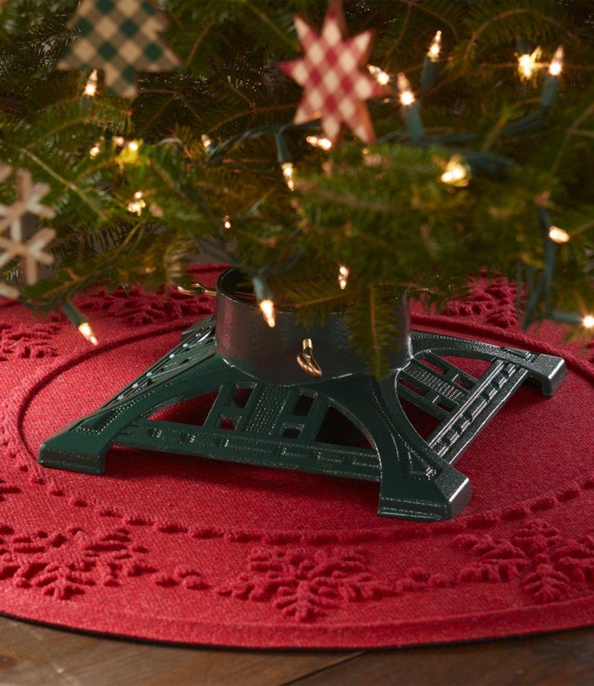 Genial Heirloom Cast Iron Christmas Tree Stand