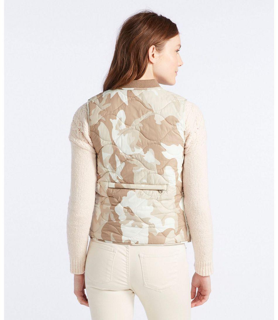 Signature Packable Quilted Vest, Print