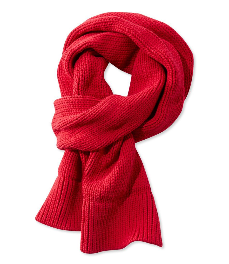 Women's Signature Chunky-Knit Scarf