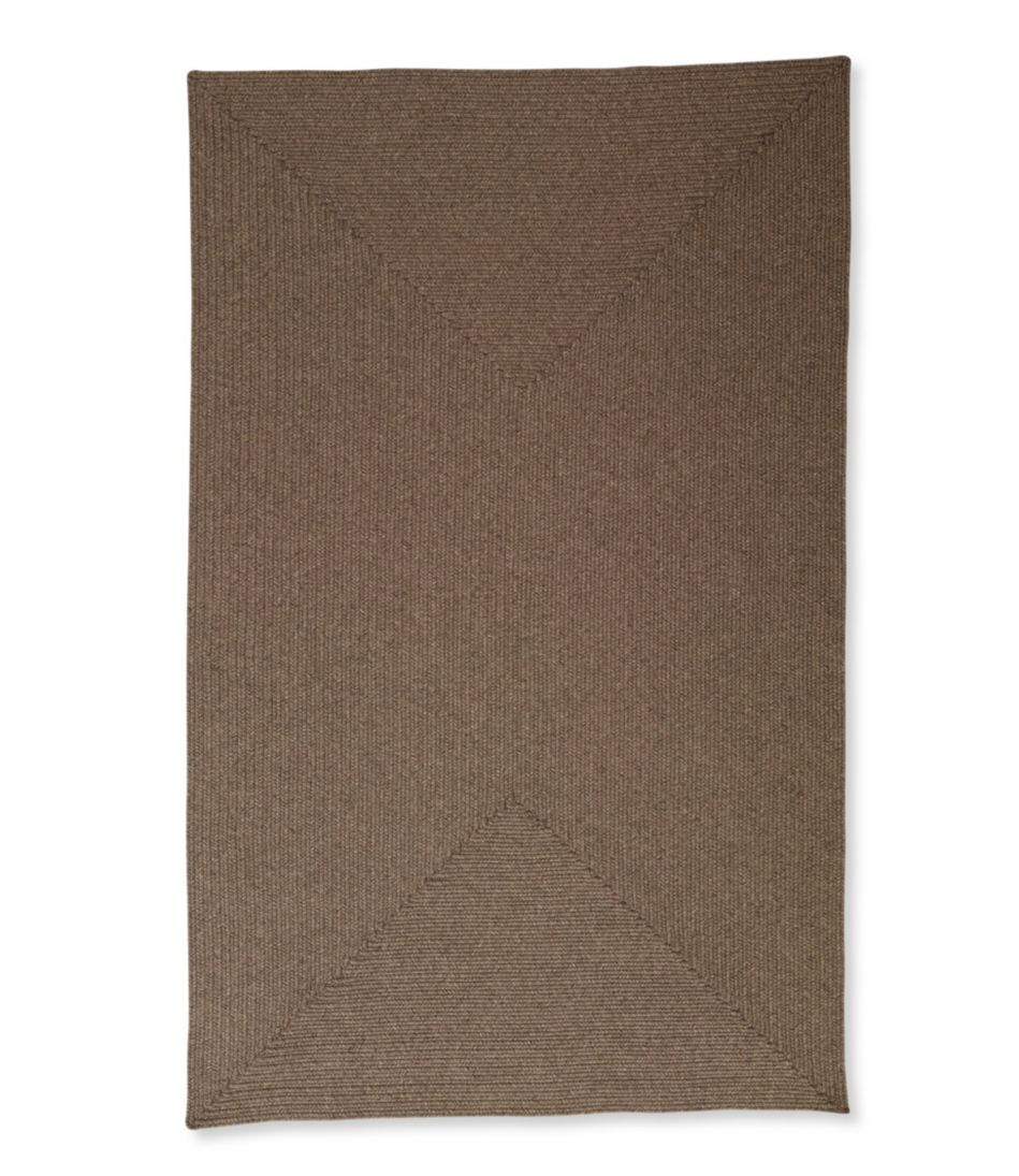 All-Weather Tweed Braided Rug, Rectangle