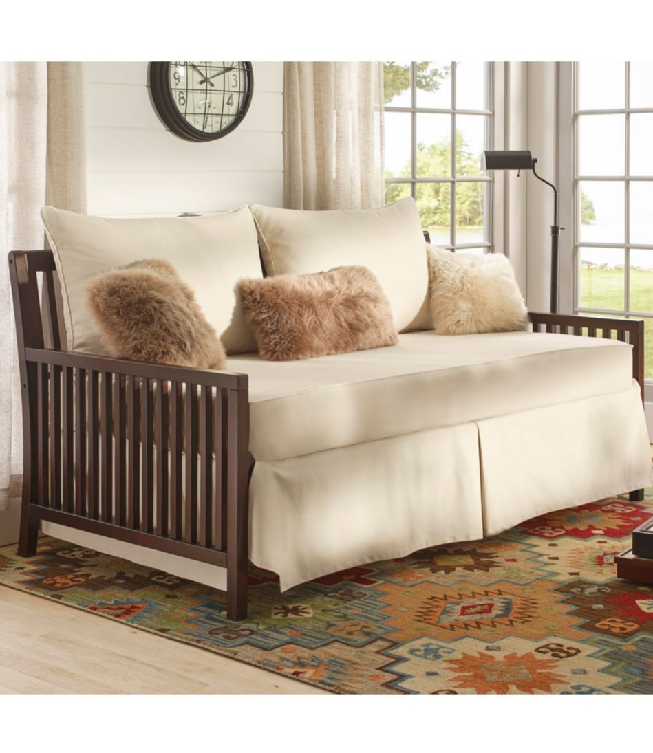 Wooden Slat Day Bed