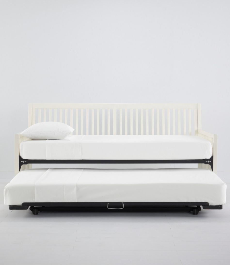 Wooden Slat Day Bed Trundle