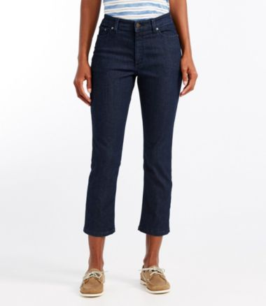 True Shape Lightweight Jeans, Classic Fit Cropped