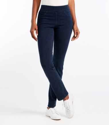 Women's Superstretch Slimming Pull-On Jeans, Classic Fit Straight-Leg