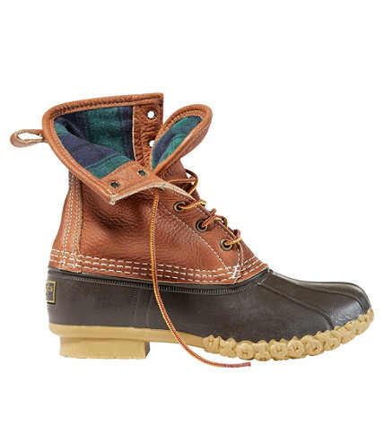 Women S 8 Quot L L Bean Boots Tumbled Leather Chamois Lined