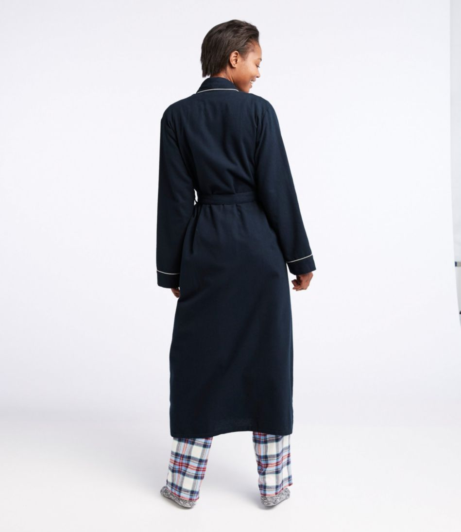 Scotch Plaid Flannel Robe