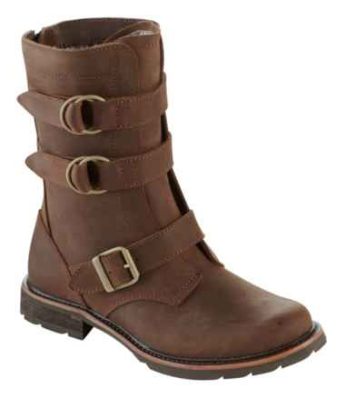 Women's Old Port Boots, Mid, Leather