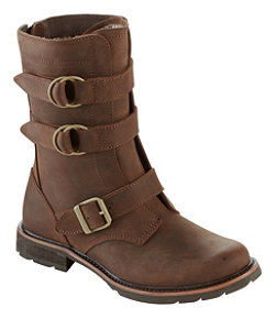Women's Old Port Boots, Mid Leather