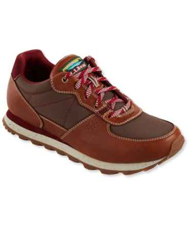 Katahdin Hiking Shoes, Leather Mesh