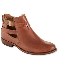 Westport Sandalized Leather Ankle Boots