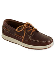 Men's Lakeside Boat Shoes, Three-Eye Tie