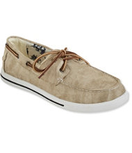 Men's Sunwashed Canvas Sneakers, Two-Eye