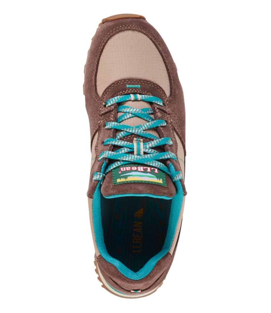 Women's Katahdin Hiking Shoes, Suede Mesh