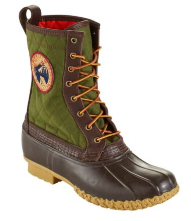 "Quilted L.L.Bean Boots, 10"" Thinsulate Patch"