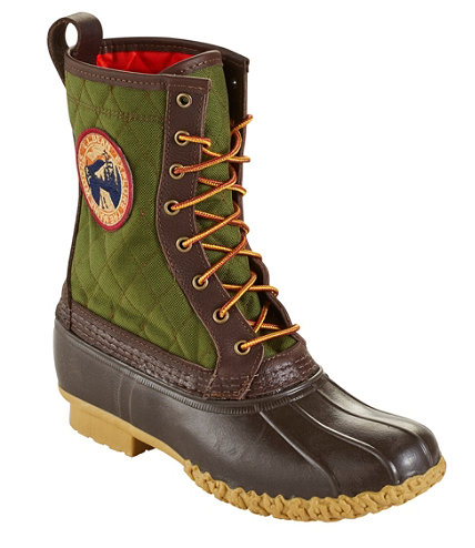 Men S Quilted L L Bean Boots 10 Quot Thinsulate Patch