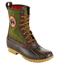 "Men's Quilted L.L.Bean Boots, 10"" Thinsulate Patch"
