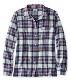 L.L.Bean Flannel Pajama Top, Plaid