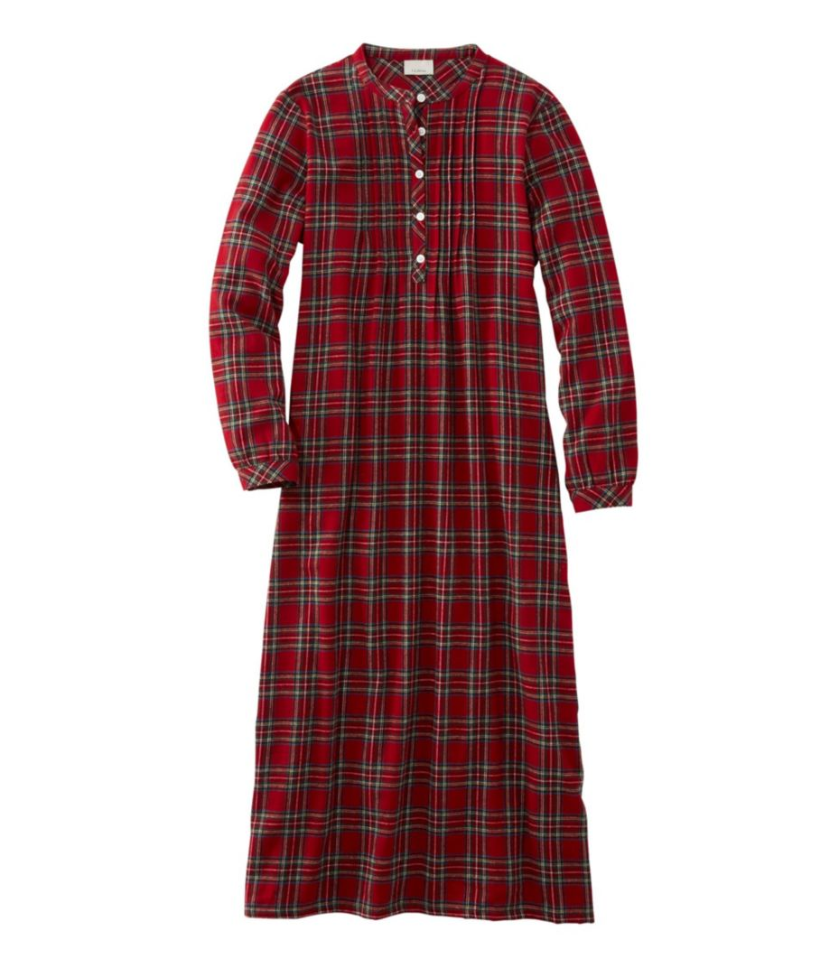 5bb74903f6 Scotch Plaid Flannel Nightgown