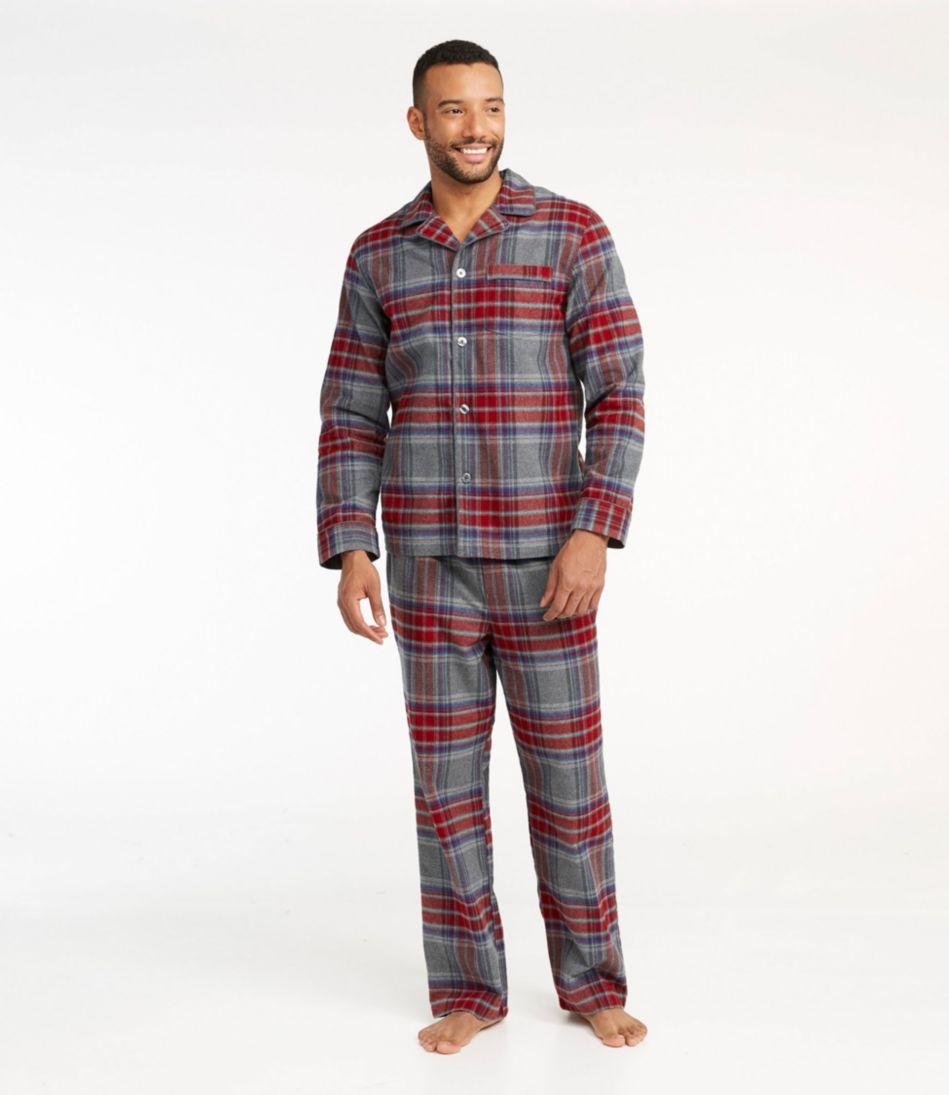 Chamois Pajamas, Plaid