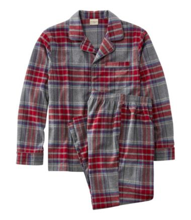 Chamois Pajamas, Plaid