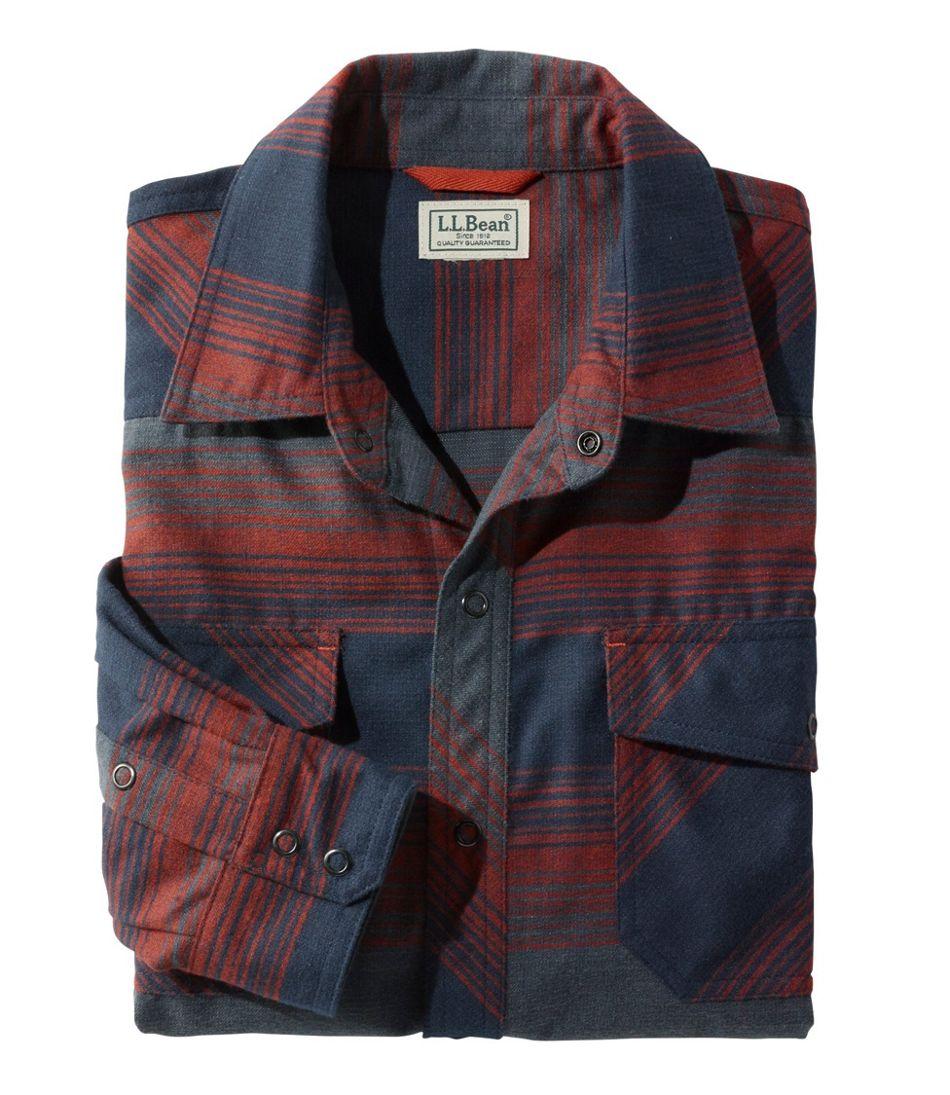 Men's Overland Performance Flannel Shirt, Stripe