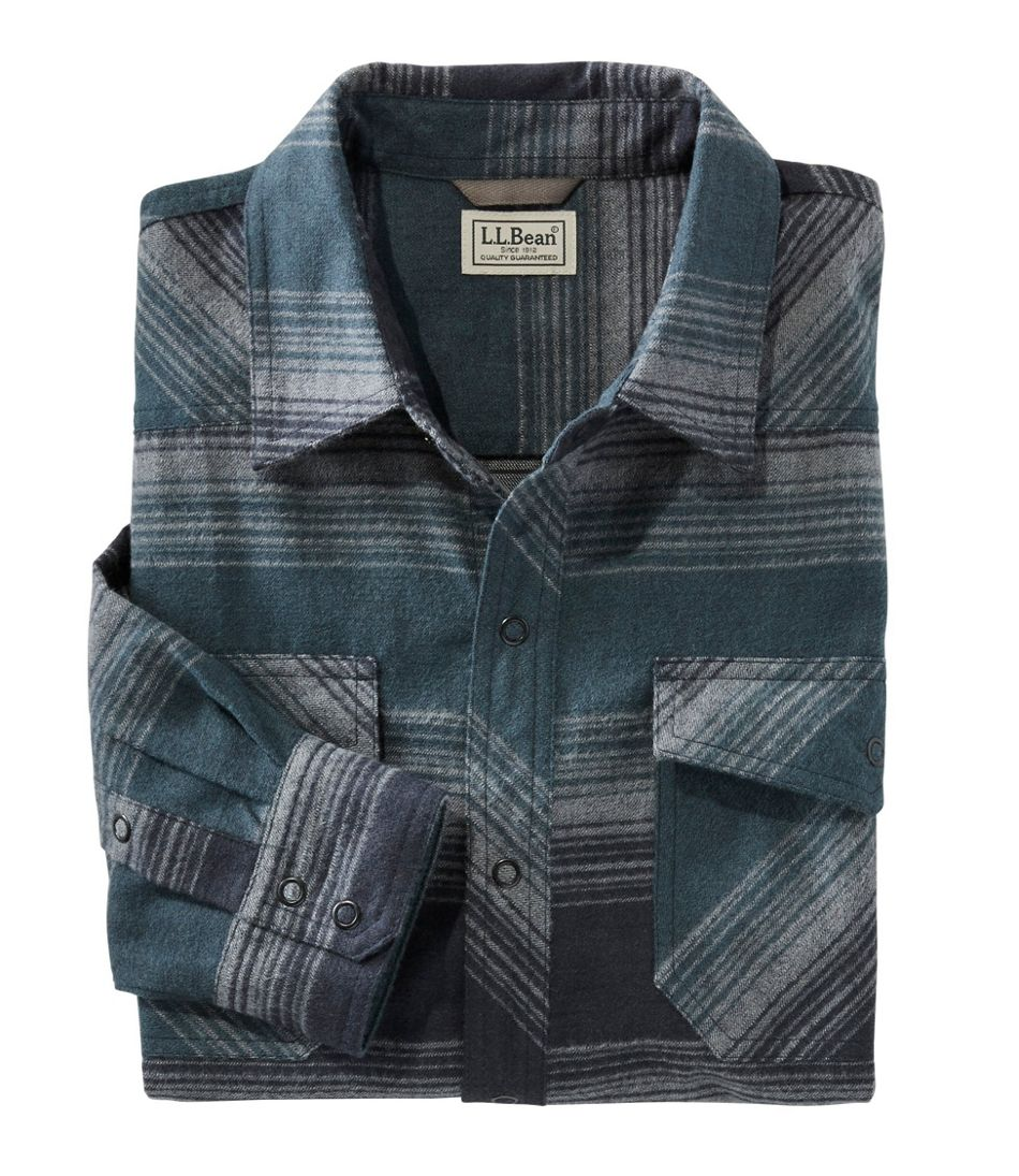 Overland Performance Flannel Shirt, Stripe