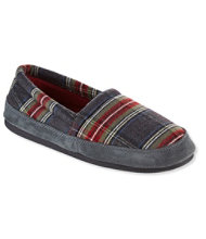 Women's Mountain Lodge Slippers, Fleece-Lined Flannel Plaid