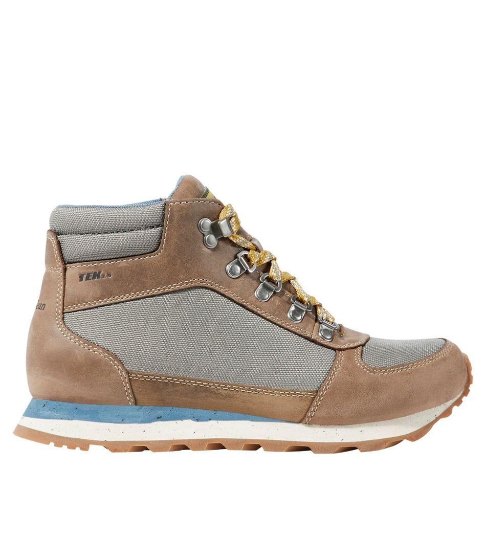 Women's Waterproof Katahdin Hiking Boots, Leather Mesh