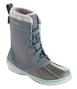 Women's Bar Harbor Boots, Nylon Mid