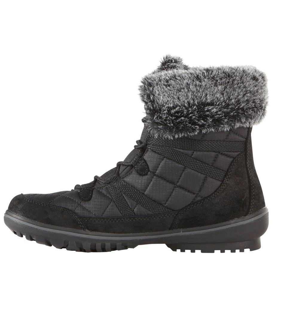 Snow Harbor Quilted Ankle Boots, Waterproof Insulated