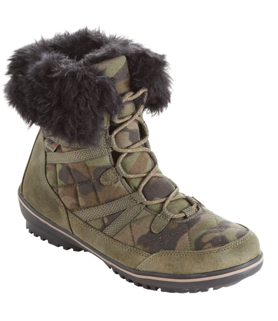 Women's Snow Harbor Quilted Ankle Boots, Waterproof Insulated