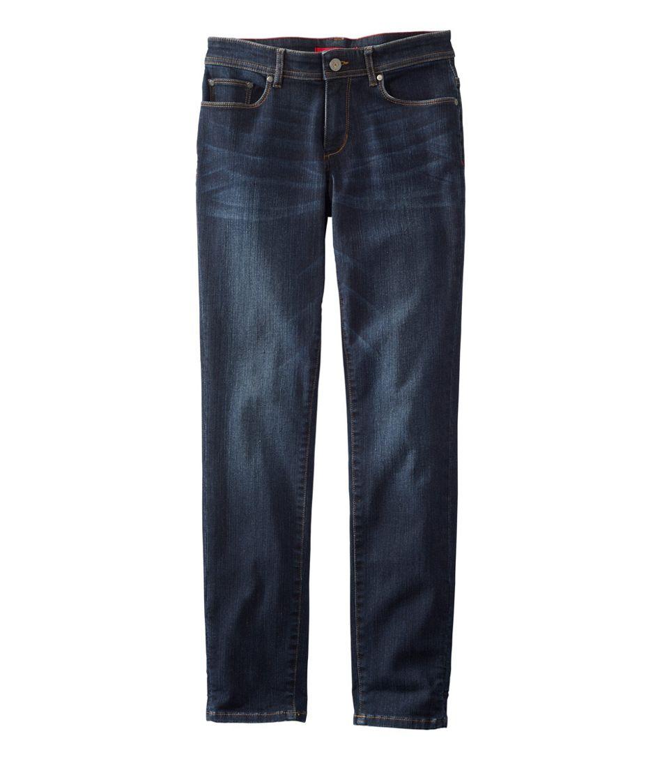 Women's L.L.Bean Performance Stretch Jeans, Slim Leg