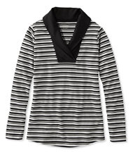 L.L.Bean Shawl-Collar Pullover, Stripe